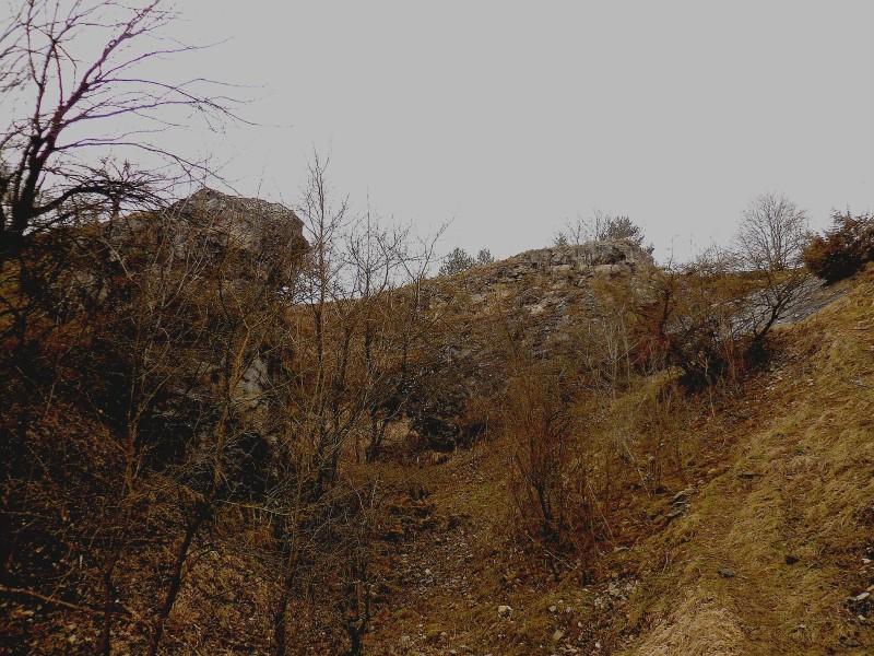 Cesta do Hergetova lomu