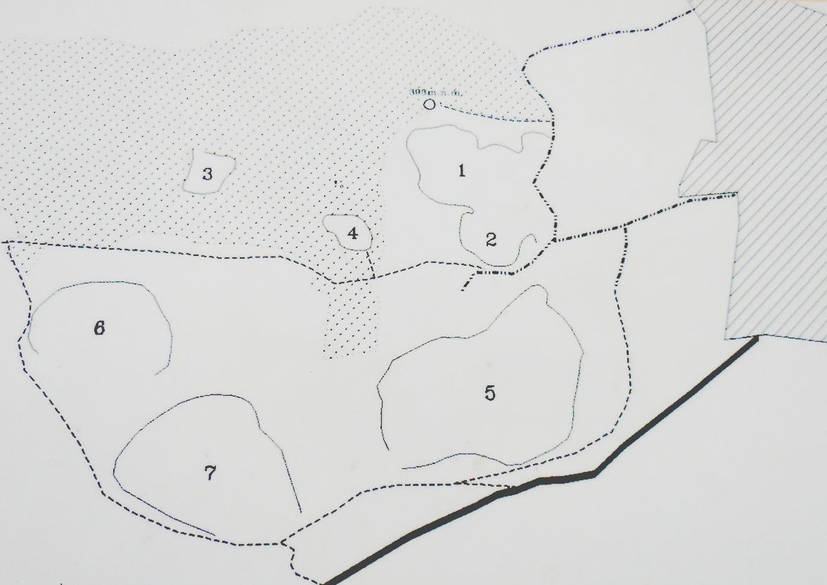 Plán lomů pod Damilem