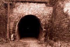 Tunel drážky Beroun - Koněprusy do Modrého lomu