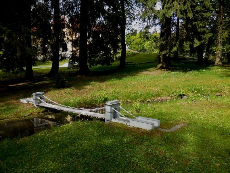 Řetězový most u Stádlece