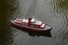 funkční model lodi