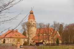 Secesní kostel sv. Jana Nepomuckého ve Štěchovicích