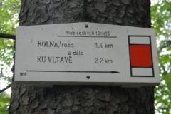 Počátek nejstarší značené turistické cesty