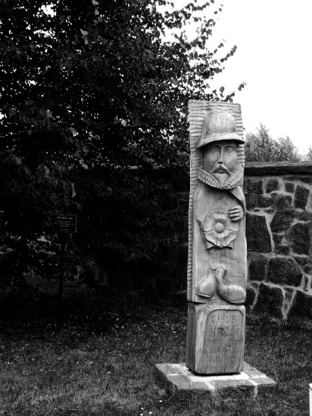 pomník Jakuba Krčína z Jelčan