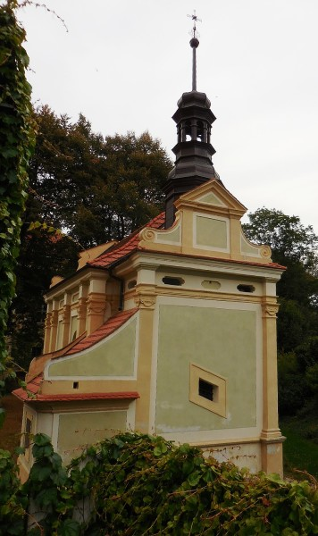 kaple zámku Radíč