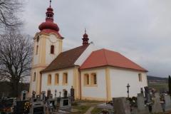 kostel sv. Václava - Nalžovice-Chlum