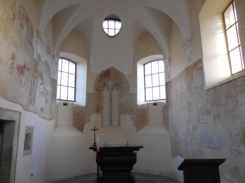 interiér kostela sv. Maří Magdalény