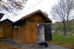 WC venkovského nádraží