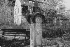 kříž v Mlýnském údolí